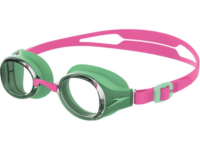 speedo Hydropure Lunettes de protection Enfant, pink/green